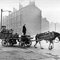 Coalman And Cart by Albert McCabe