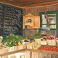 Colby Farm Stand Produce by Kristine Patti