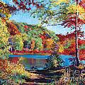 Color Rich Harriman Park by David Lloyd Glover