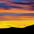 Colorado Sunrise -vertical by Beth Riser