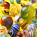 Colorful Marbles by Garry Gay