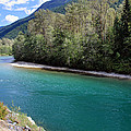 Colorful Skagit River by Pierre Leclerc Photography