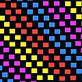 Colorful Squares by Louisa Knight