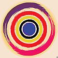 Compass Brush Print by Gary Grayson