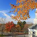 Concord Massachusetts In Autumn by John Burk