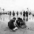 Coney Island Beach Goers - C 1906 by International  Images