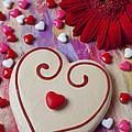 Cookie And Candy Hearts by Garry Gay