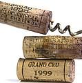 Cork Of French Wine by Bernard Jaubert