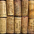 Corks Of Fench Vine Of Bordeaux by Bernard Jaubert