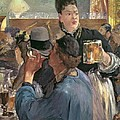 Corner Of A Cafe-concert by Edouard Manet