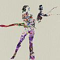 Couple Dancing by Naxart Studio