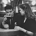 Couple In Pub by Picture Post