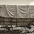 Covered Wagon Sepia by Steve Harrington