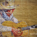 Cowboy Poet Print by Joan Carroll