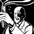 Crazy Mad Scientist Test Tube by Aloysius Patrimonio