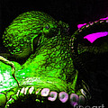 Creatures Of The Deep - The Octopus - V6 - Green by Wingsdomain Art and Photography