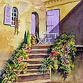 Crooked Steps And Purple Doors by Sam Sidders