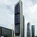 Ctba Skyscrapers, Madrid by Carlos Dominguez