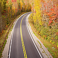 Curvy Road Blue Ridge Parkway, North Carolina by Lightvision, LLC