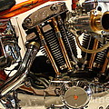 Custom Motorcycle Chopper . 7d13316 by Wingsdomain Art and Photography