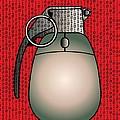 Cyber Warfare, Conceptual Artwork Print by Stephen Wood