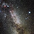 Cygnus And Lyra Constellations by Eckhard Slawik