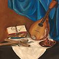 Dad's Mandolin by Kathy Wood