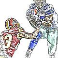 Dallas Cowboys Dez Bryant Washington Redskins Deangelo Hall by Jack K