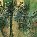 Dancers Rehearsing by Edgar Degas