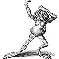 Dancing Frog, Conceptual Artwork by Bill Sanderson