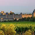 Dawn In Carcassonne by Brian Jannsen