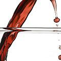 Decanting Wine Print by Frank Tschakert