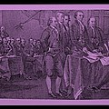 Declaration Of Independence In Pink by Rob Hans