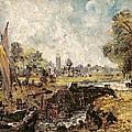 Dedham Lock by John Constable