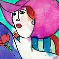 Design Lady Print by Jessie Abrams Age Eleven
