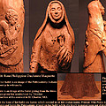 Details Of Symbols On Saint Rose Philippine Duchesne Sculpture. by Adam Long