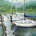 Dock Side by Max Mckenzie