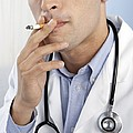 Doctor Smoking by Adam Gault