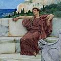 Dolce Far Niente by Sir Lawrence Alma-Tadema