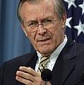 Donald H. Rumsfeld Secretary Of Defense by Everett