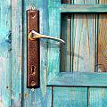 Door Handle Print by Carlos Caetano