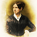 Dorothea Dix, American Reformer Print by Photo Researchers