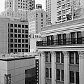 Downtown San Francisco Buildings - 5d19323 - Black And White by Wingsdomain Art and Photography