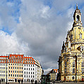 Dresden Church Of Our Lady And New Market by Christine Till