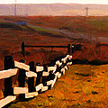 Driving Down The Lonely Road . Long Version by Wingsdomain Art and Photography
