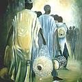 Drummers' Return by David Omotosho