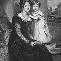 Duchess Of Kent & Victoria by Granger