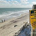 Dunes Rebuilding Keep Off Grass And Dune Area Cape Cod by Matt Suess