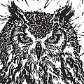 Eagle Owl by Julia Forsyth