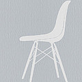 Eames Fiberglass Chair by Naxart Studio